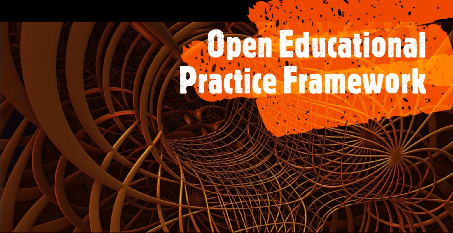 Cages framework graphic Open Educational Practices Framework